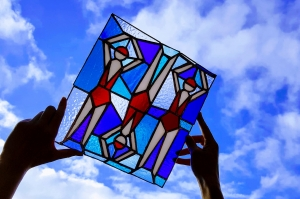 Stained Glass course with Jill Fordham at Cambridge Art Makers - lido
