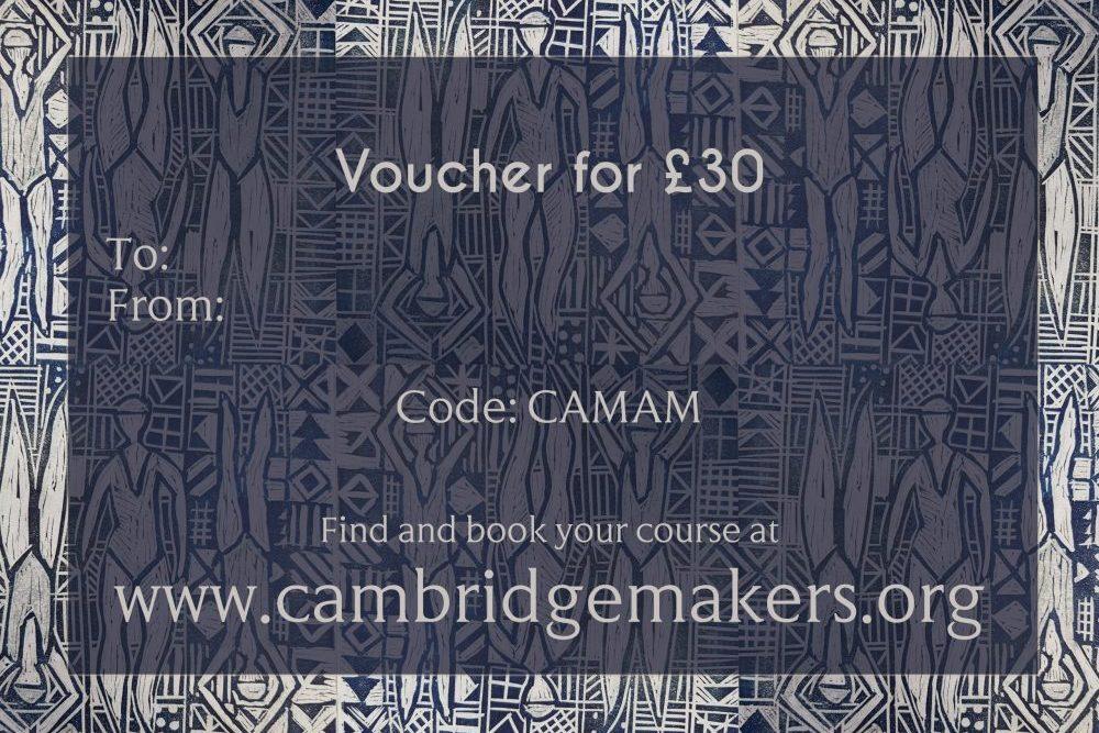 Cambridge Art Makers Vouchers