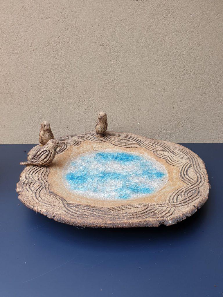 Joy Voisey Bird Bath