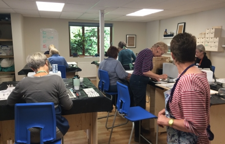 Creative Drawing class with Niki Chandler at Cambridge Art Makers