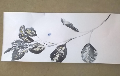 Leaves Still Life Creative Drawing course with Niki Chandler at Cambridge Art Makers