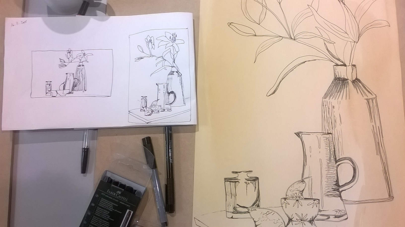 Creative Drawing with Niki Chandler at Cambridge Art Makers