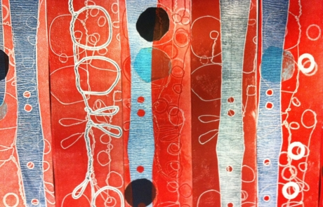 Orange and Blue Creative Drawing course with Niki Chandler at Cambridge Art Makers