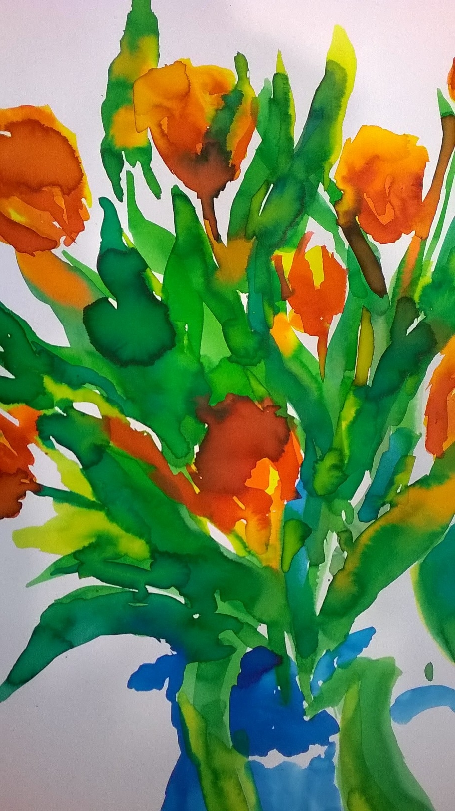 Tulips at Cambridge Art Makers