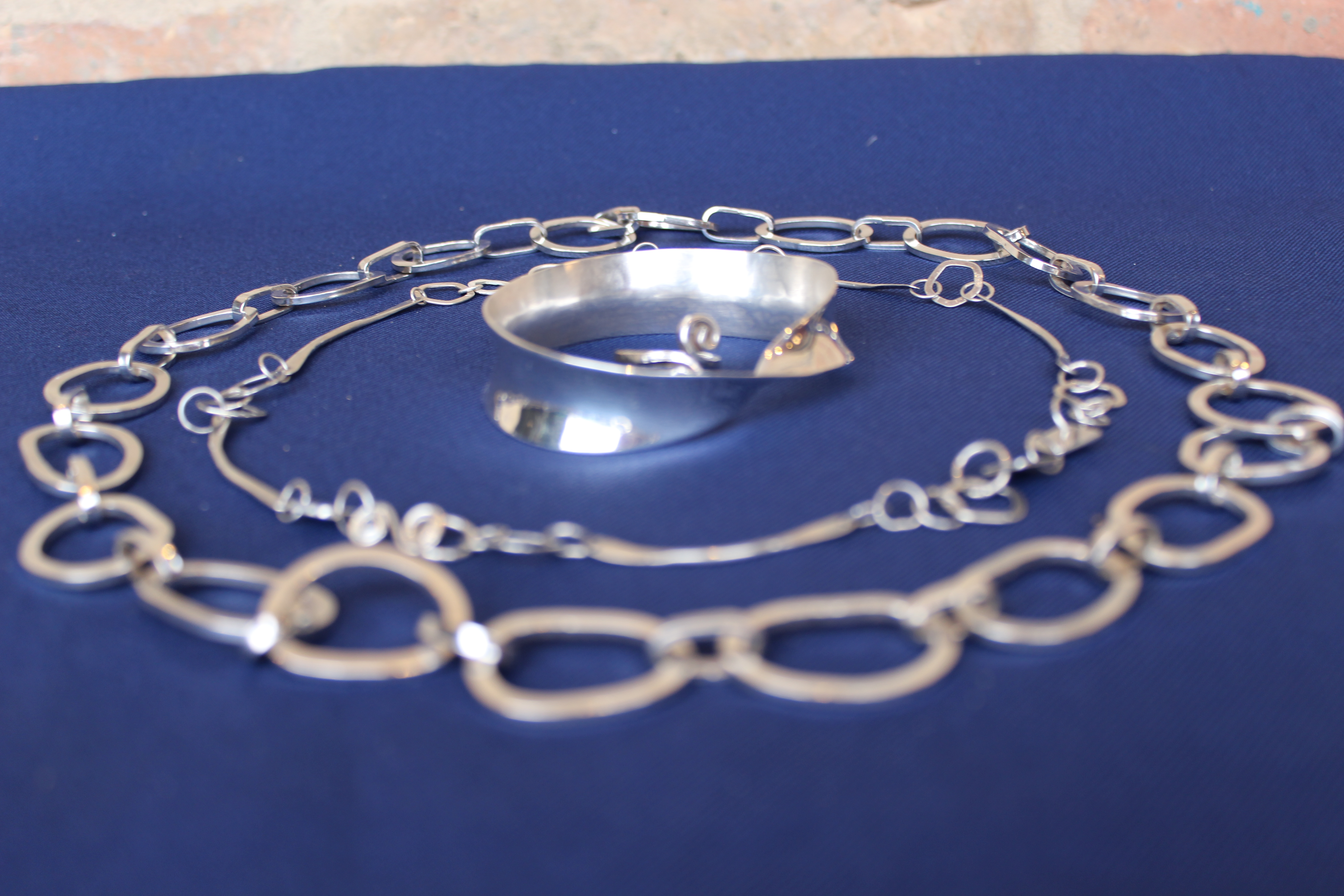 Advanced Level Jewellery & Silver Smithing  10 Friday afternoons -  Cambridge Makers
