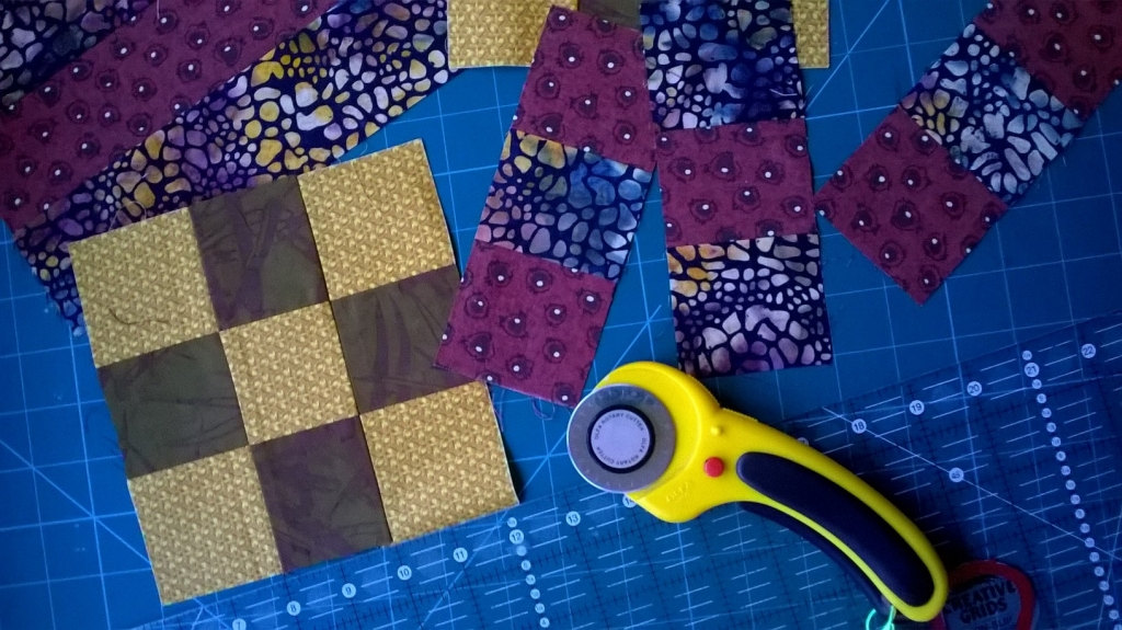 Patchwork in progress Patchwork & Quilting course with Niki Chandler at Cambridge Art Makers