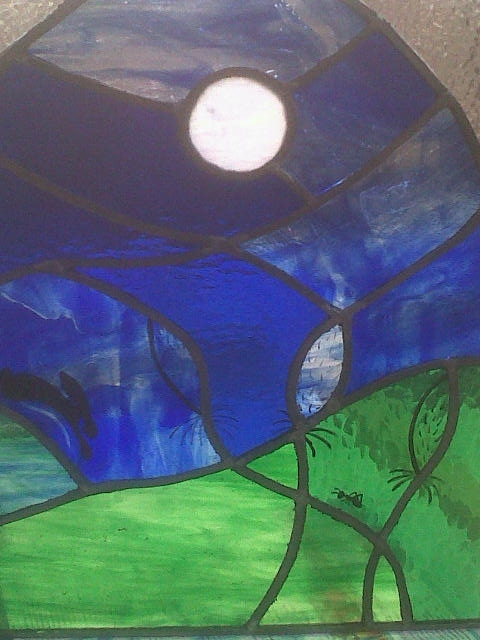 Stained Glass with ant course with Jill Fordham at Cambridge Art Makers