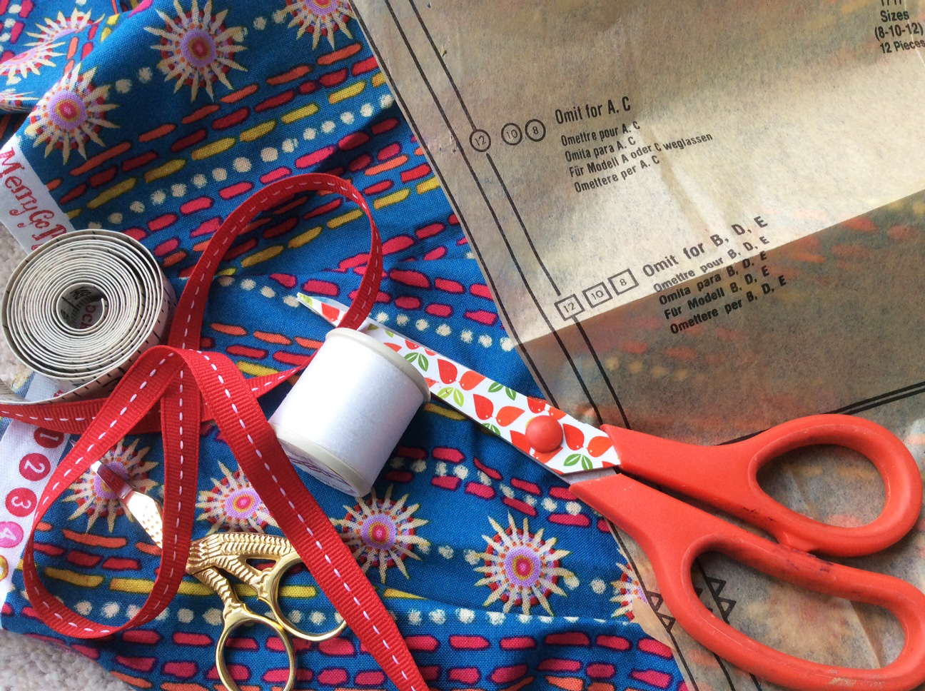 Dressmaking for beginners with Gill Collinson at Cambridge Art Makers sewing courses