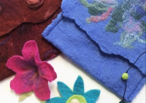 Felting courses with Gill Collinson at Cambridge Art Makers